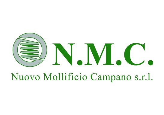 Logo verde nmc vettoriale